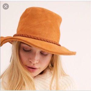 Free People Accessories - Free people Seude bucket hat
